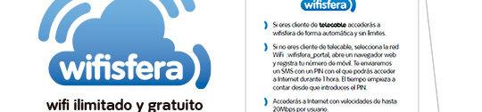 ¿Adicto al WiFi? Busca el logo y conéctate en tu local favorito